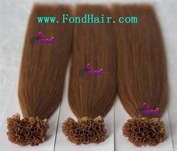 100 Remy Hair Nail Tip Hair Extension 48 U Tip Hair Extension